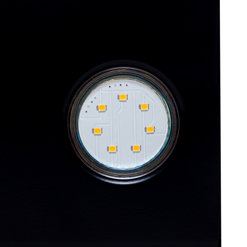 Cappa aspirante decorativa inclinato Perfelli DNS 6842 BL LED