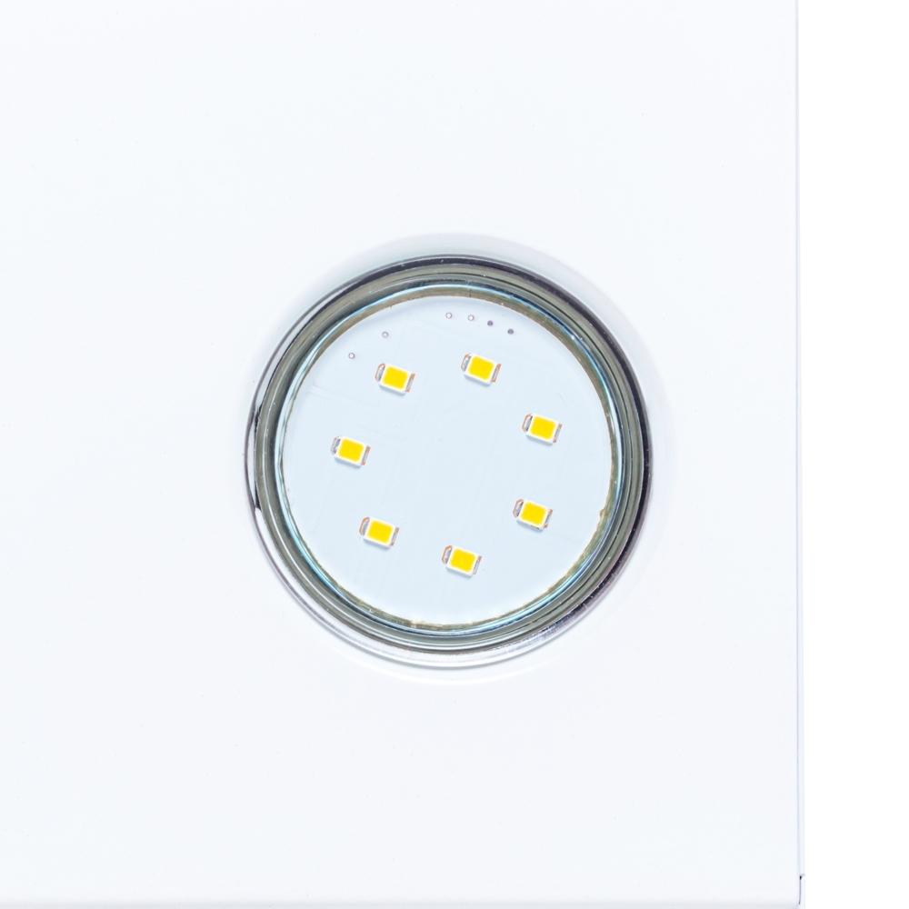 Витяжка декоративна похила Perfelli DNS 6842 WH LED