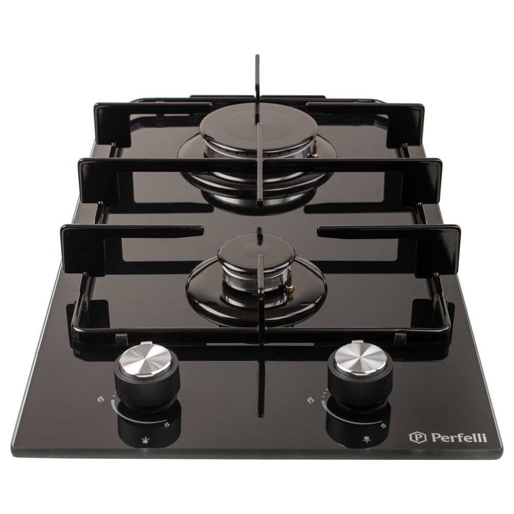 Поверхня газова Domino на склі Perfelli HGG 31414 BL