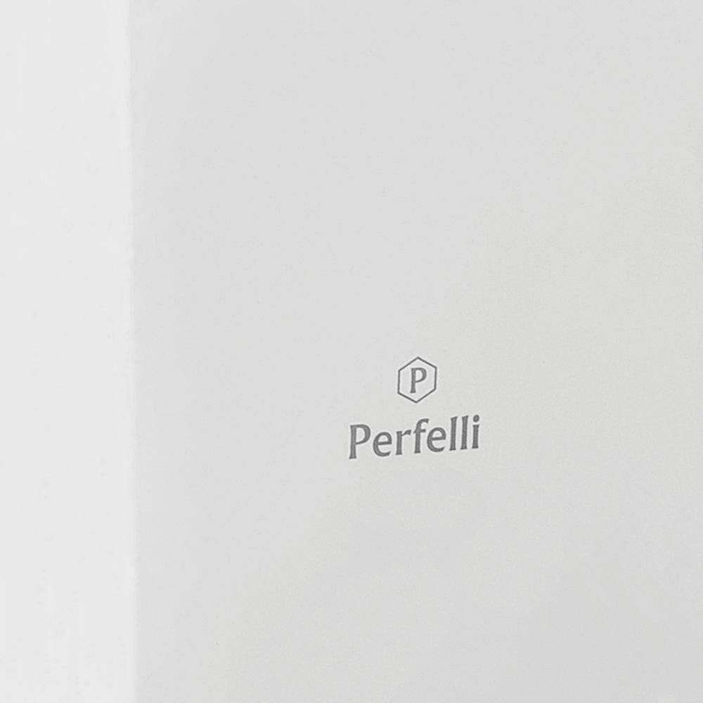 Витяжка декоративна похила Perfelli DNS 6452 D 850 WH LED