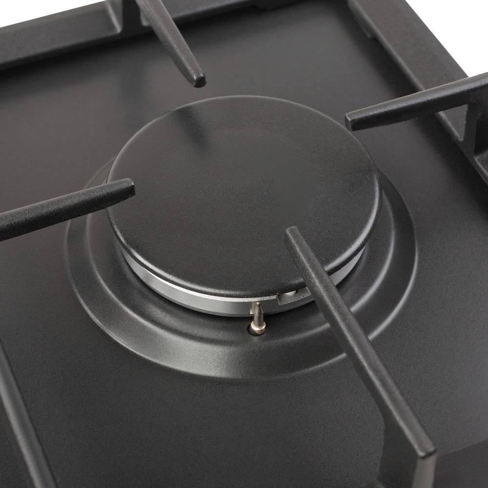Поверхня газова Domino на металі Perfelli HGM 31424 BL