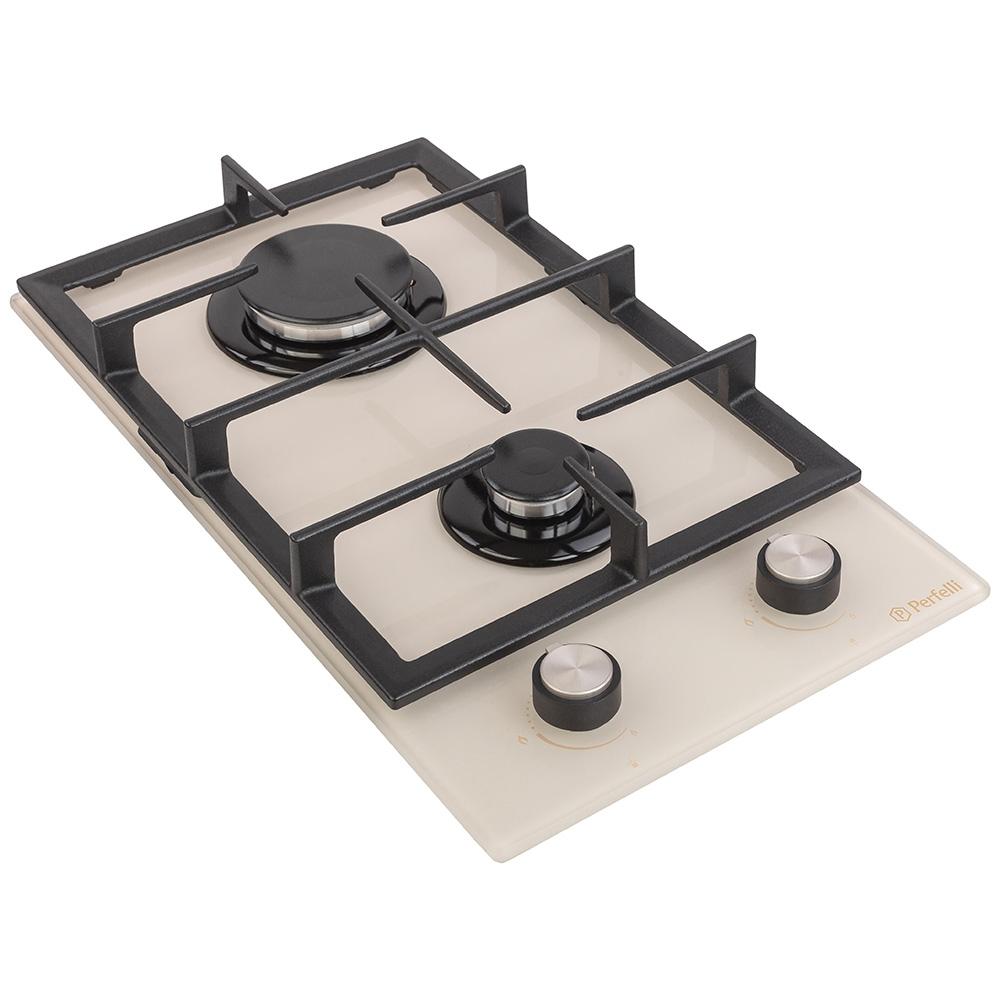 Поверхня газова Domino на склі Perfelli HGG 31424 IV