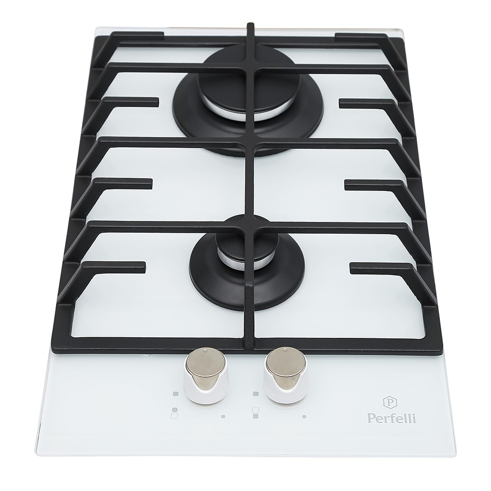 Gas surface Domino on glass Perfelli HGG 318 W