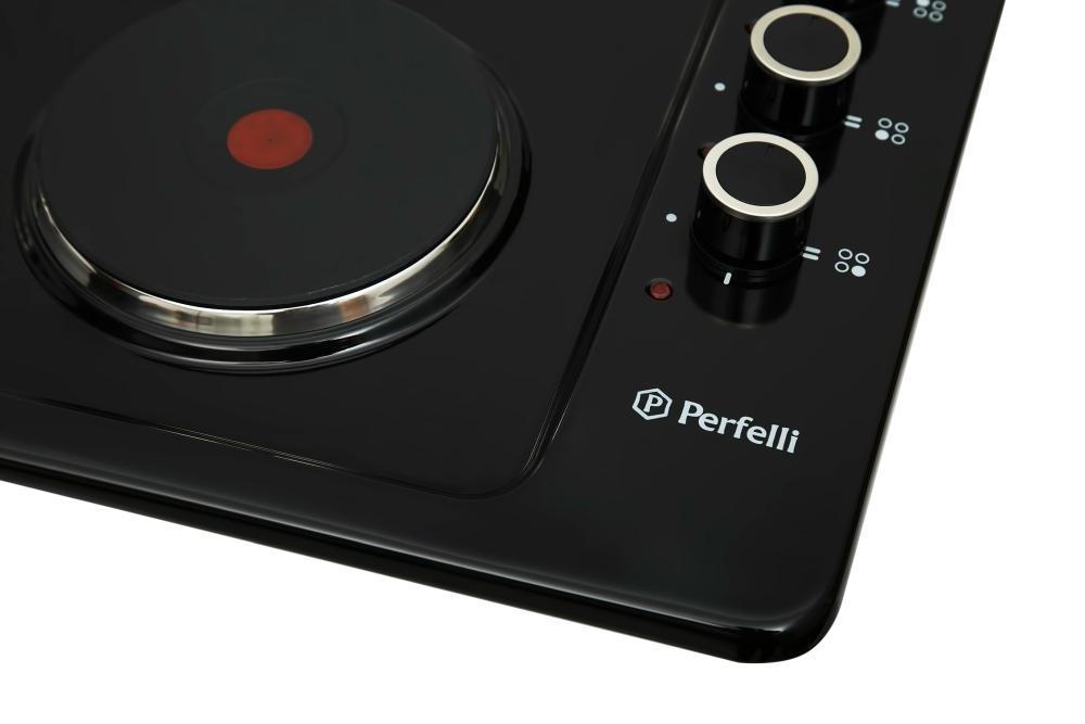 Поверхность электрическая традиционная Perfelli HE 6113 BL