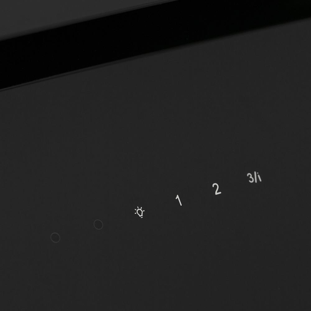 Decorative Incline Hood Perfelli DNS 6763 B 1100 BL LED Strip