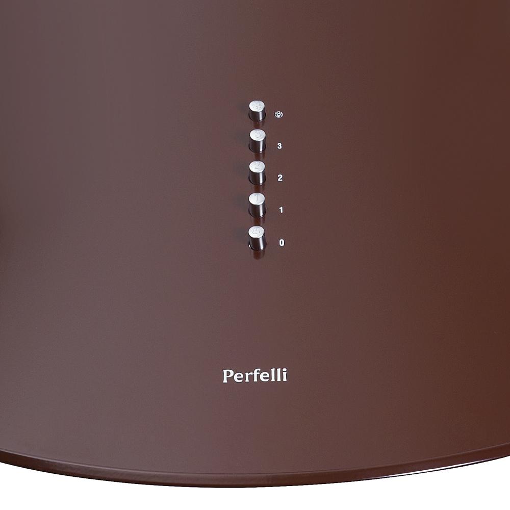 Вытяжка купольная Perfelli KR 6412 BR LED