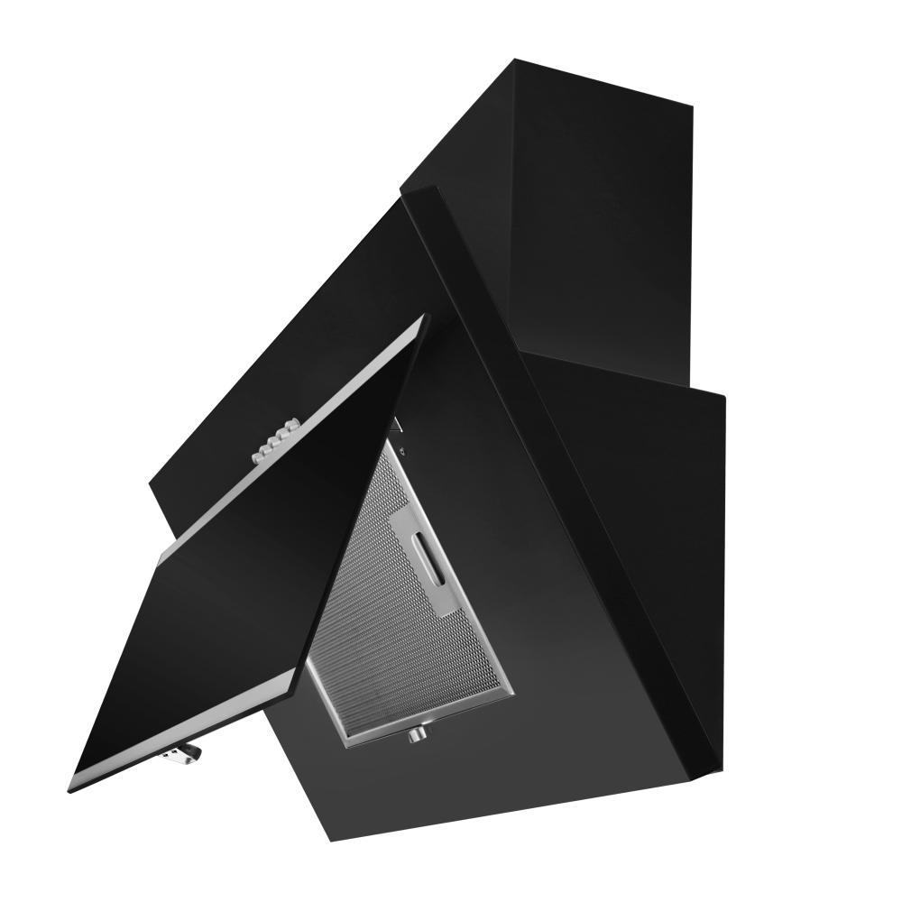Вытяжка декоративная наклонная Perfelli DN 6672 A 1000 BL/I LED