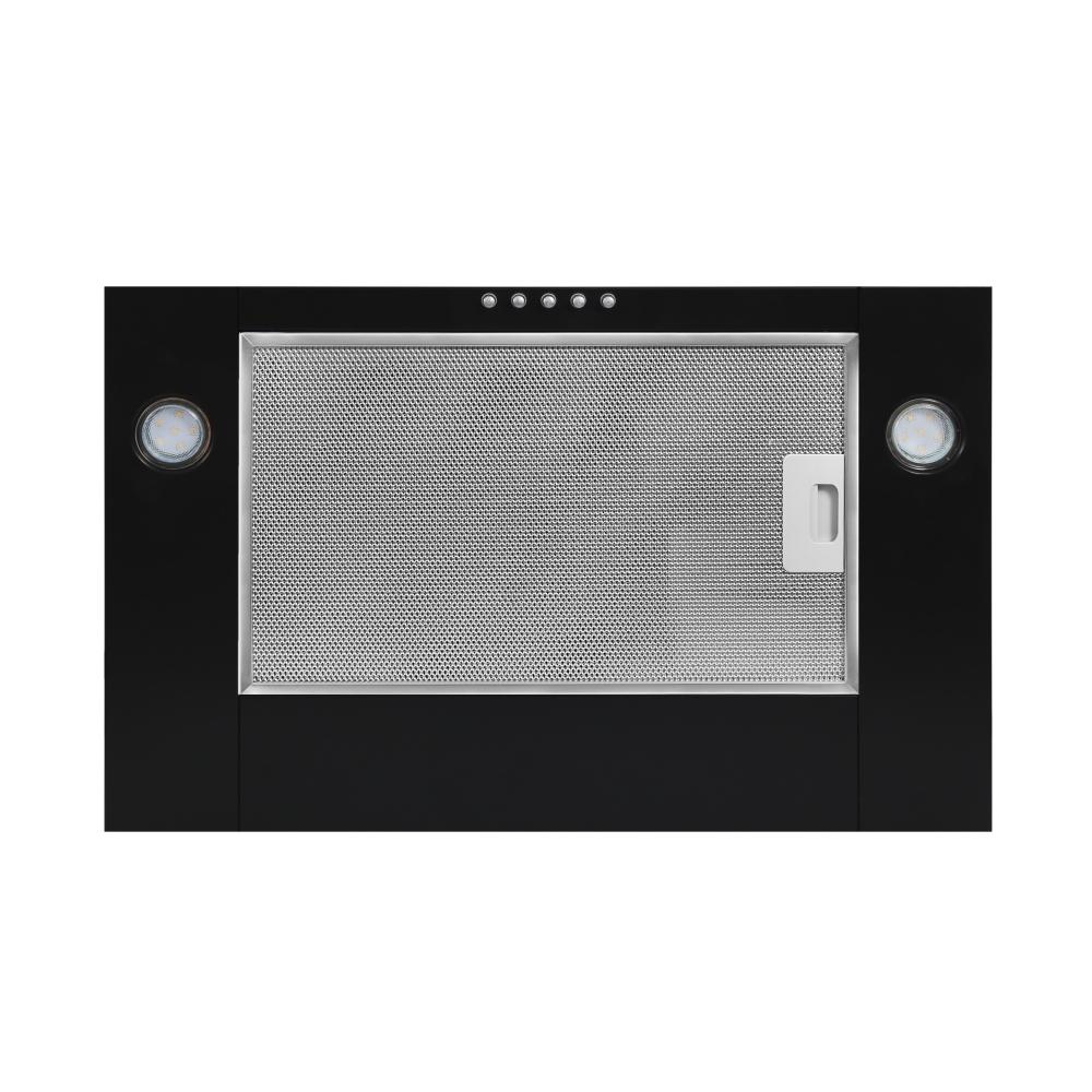 Вытяжка встраиваемая Perfelli PG 6192 A 550 BL LED GLASS