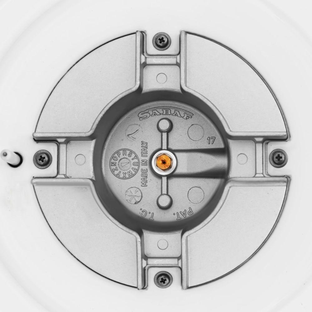 Поверхность газовая на металле Perfelli HGM 61220 WH