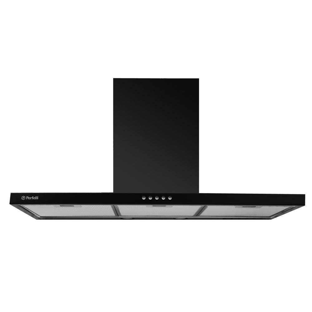 Вытяжка декоративная Т-образная Perfelli T 9612 A 1000 BL LED