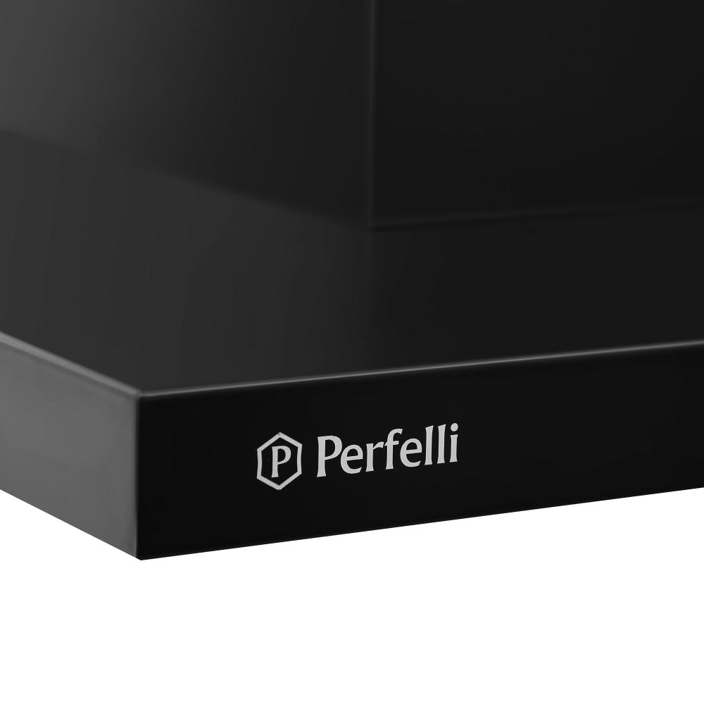 Hood decorative T-shaped Perfelli TET 6612 A 1000 BL LED