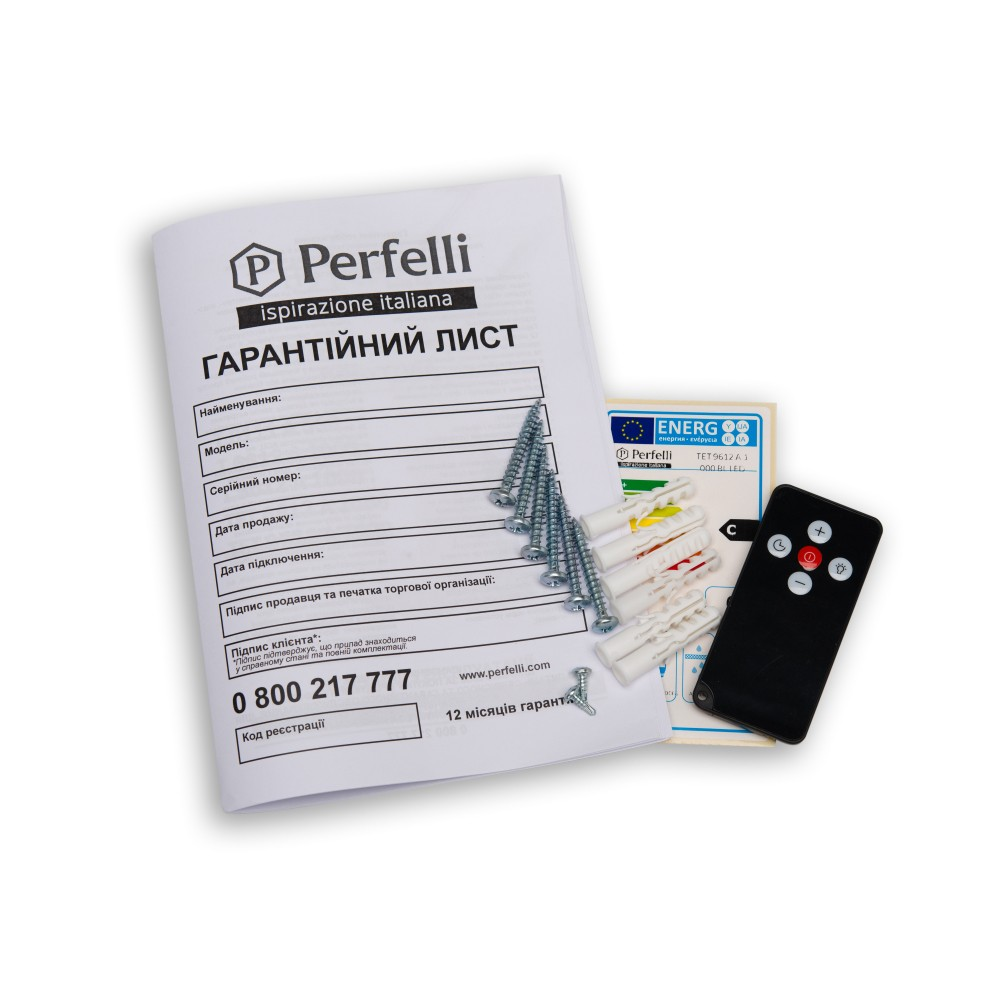 Hood decorative T-shaped Perfelli TET 9612 A 1000 I LED