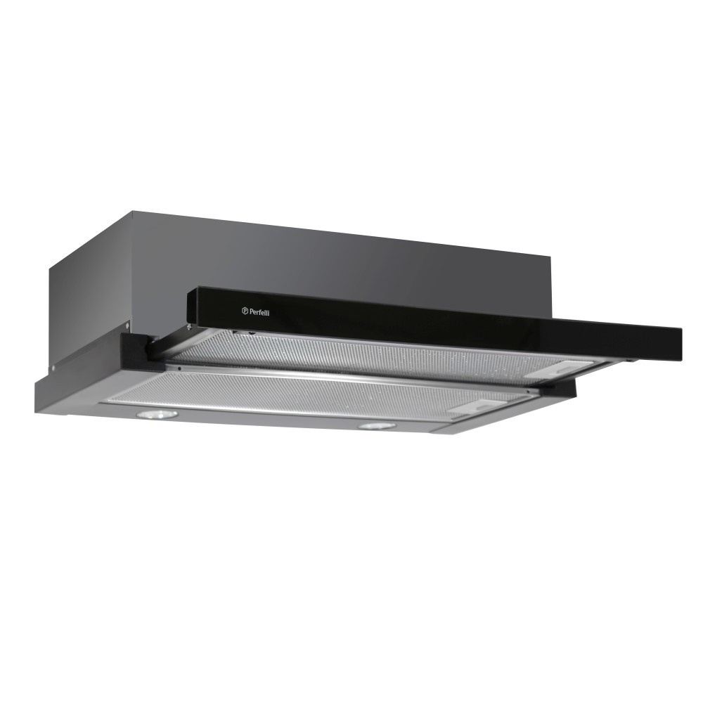 Telescopic hood Perfelli TLS 6632 BL LED