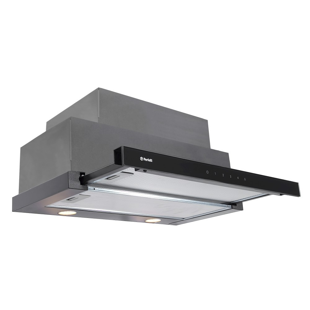 Hood telescopic Perfelli TLS 6832 BL LED