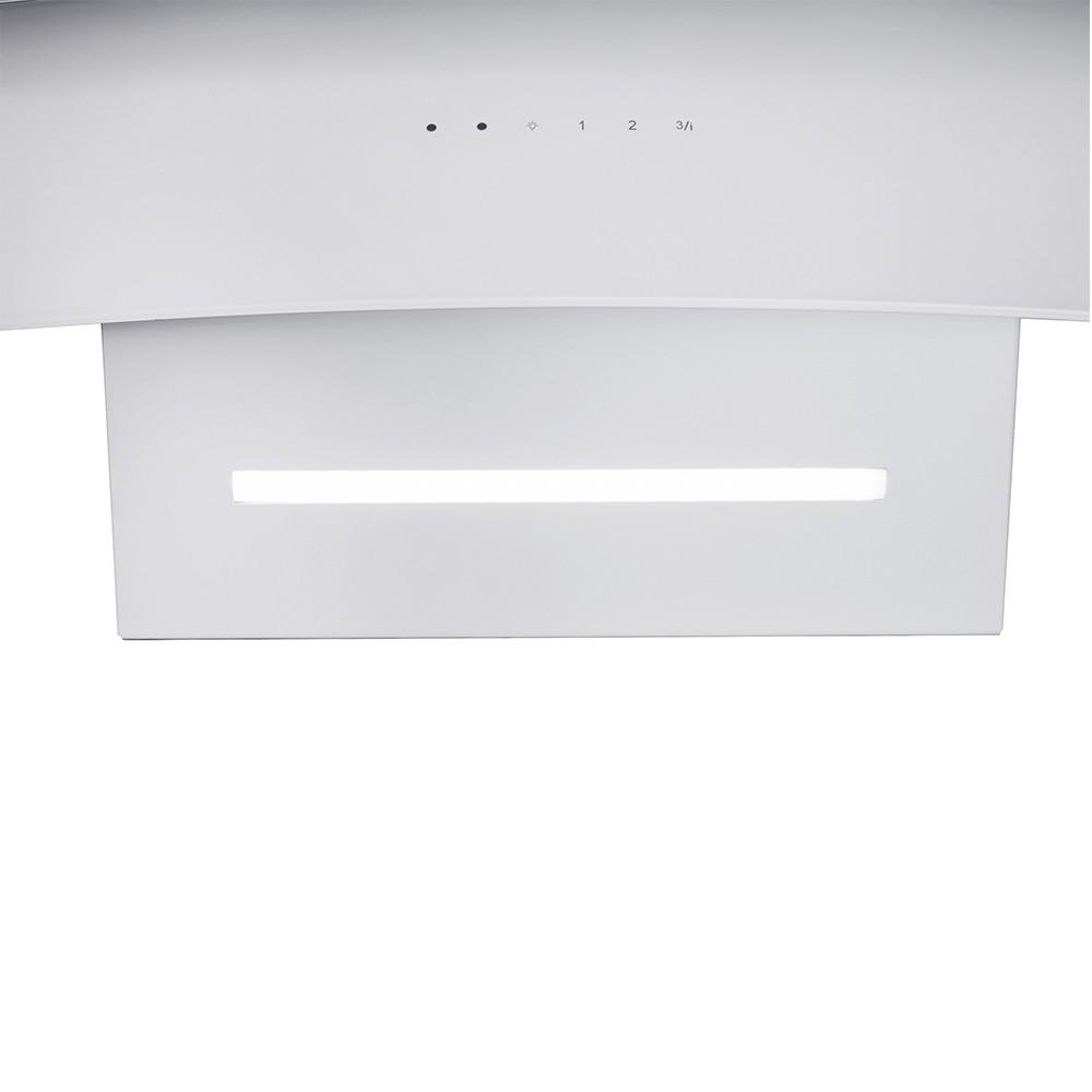 Decorative Incline Hood Perfelli DNS 6763 B 1100 WH LED Strip