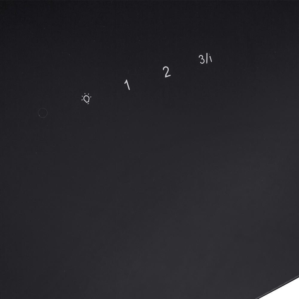 Вытяжка декоративная наклонная Perfelli DNS 67113 B 1100 BL LED Strip