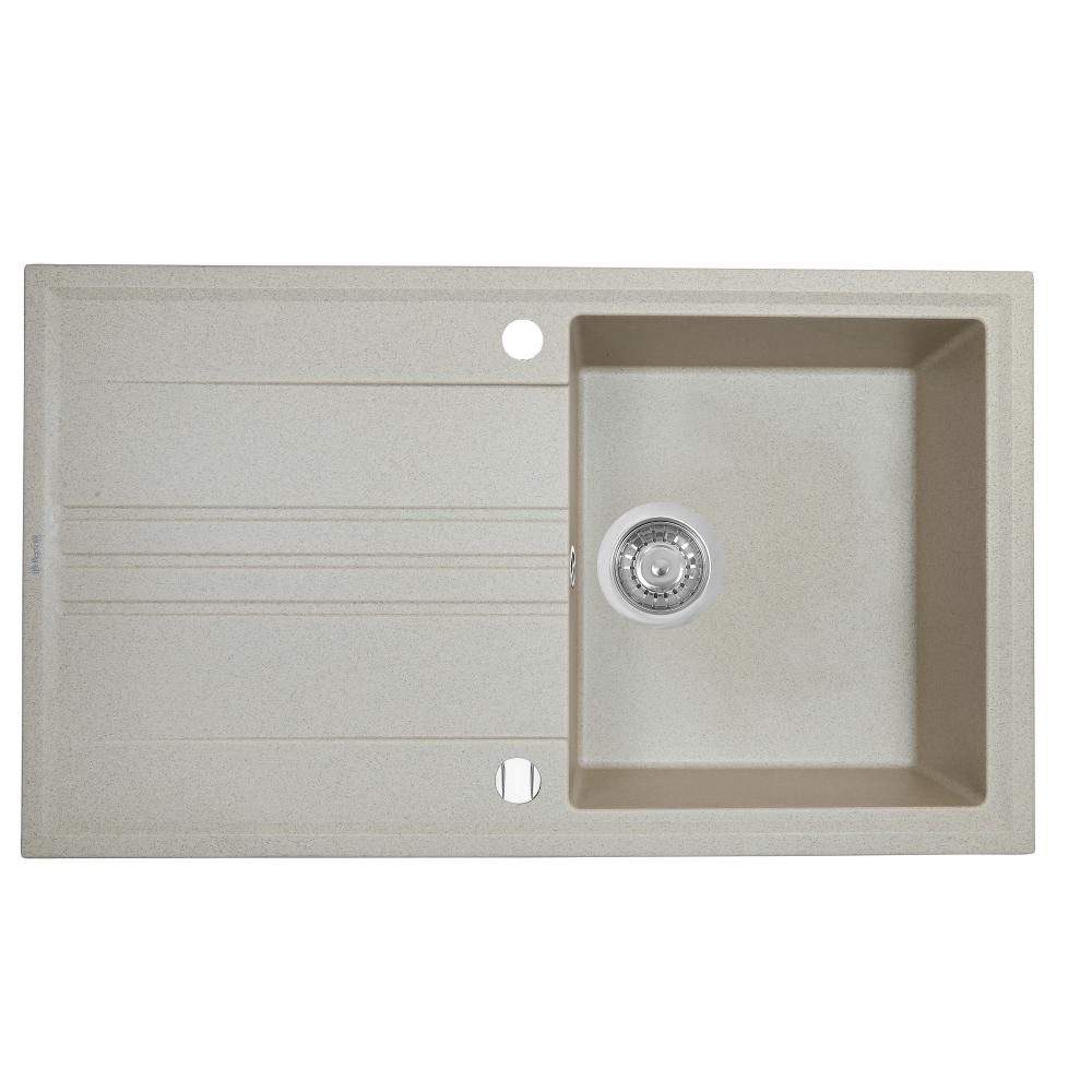 Granite kitchen sink Perfelli CAPIANO PGC 114-86 SAND