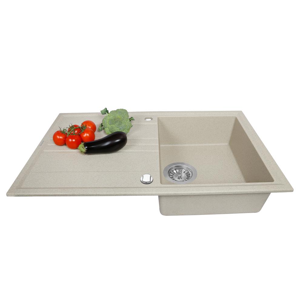 Мийка кухонна гранітна  Perfelli CAPIANO PGC 114-86 SAND