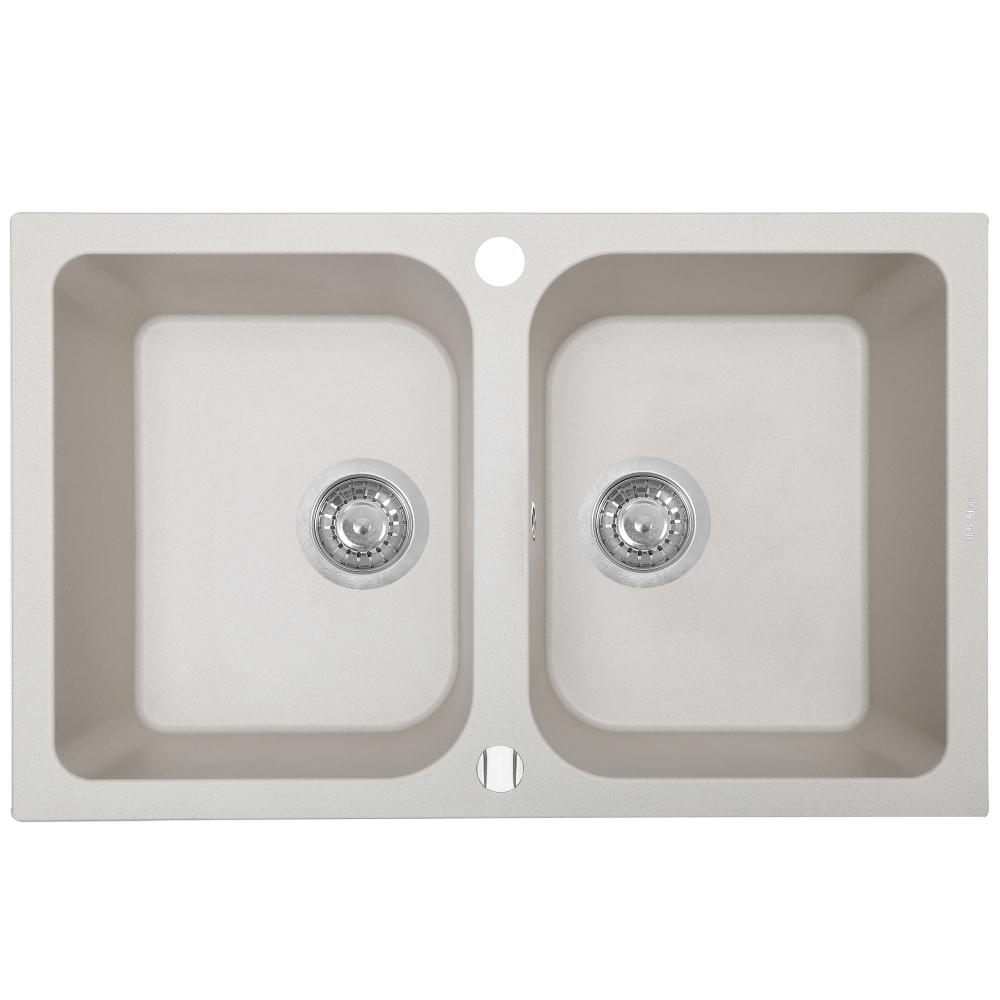 Lavello da cucina in granito Perfelli CELINE PGC 208-76 LIGHT BEIGE