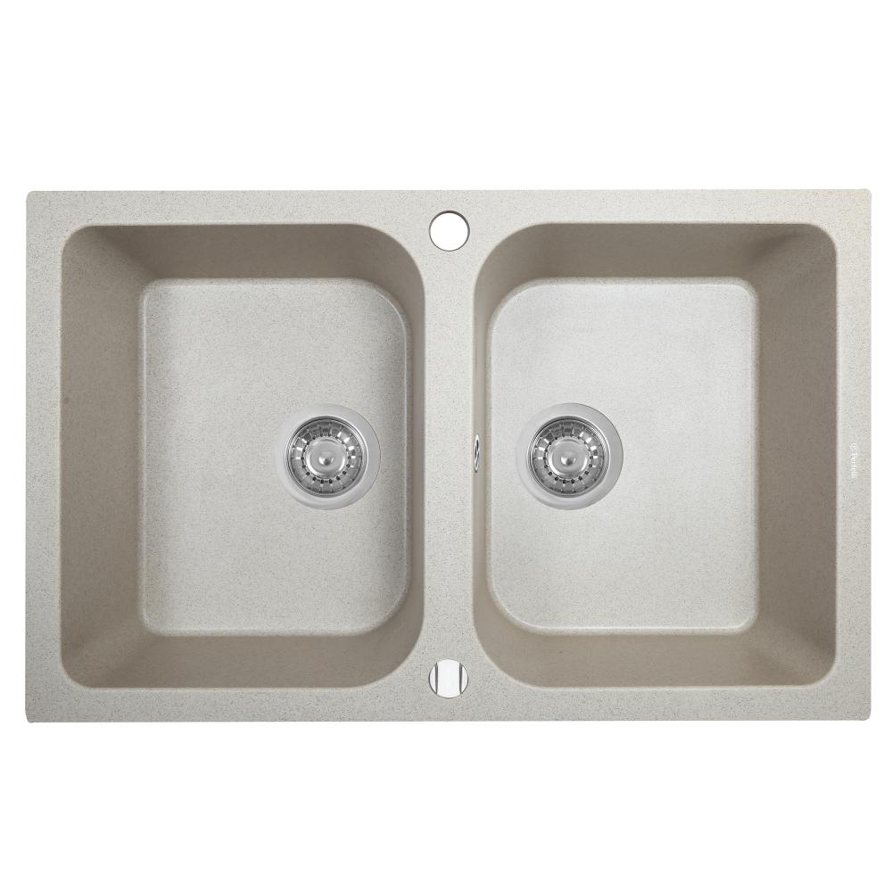 Lavello da cucina in granito Perfelli CELINE PGC 208-76 SAND