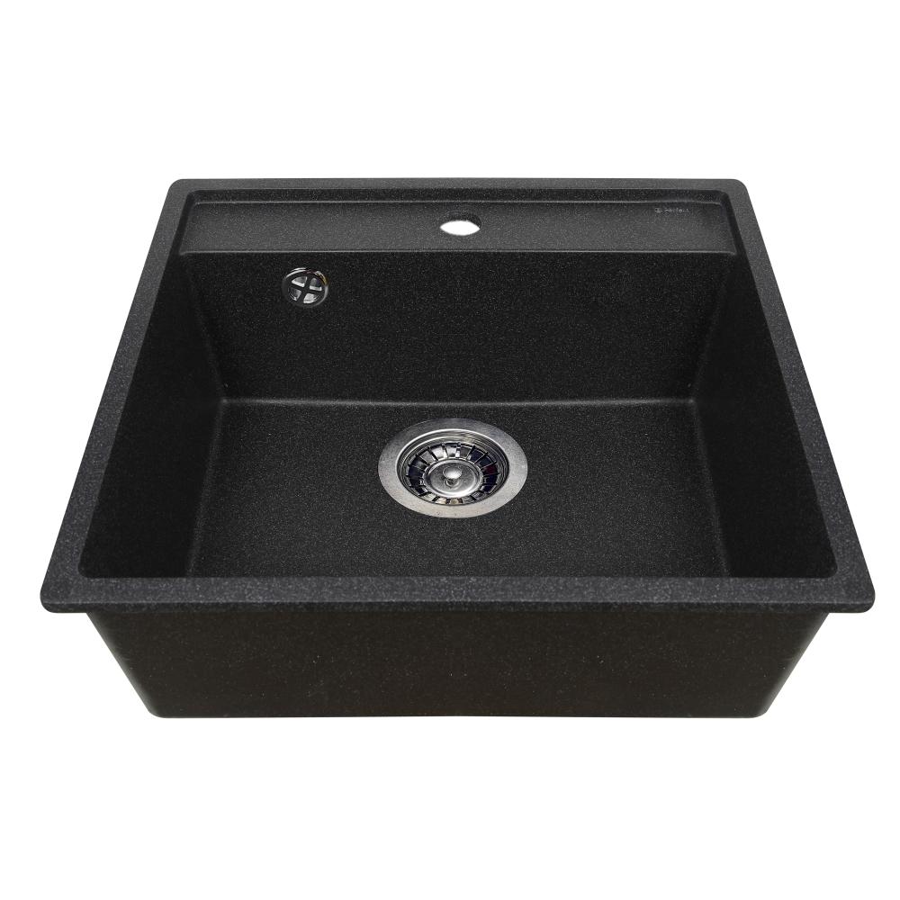 Lavello da cucina in granito Perfelli ESOTTO PGE 10-50 BLACK