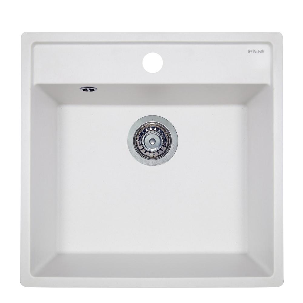 Lavello da cucina in granito Perfelli ESOTTO PGE 10-50 WHITE