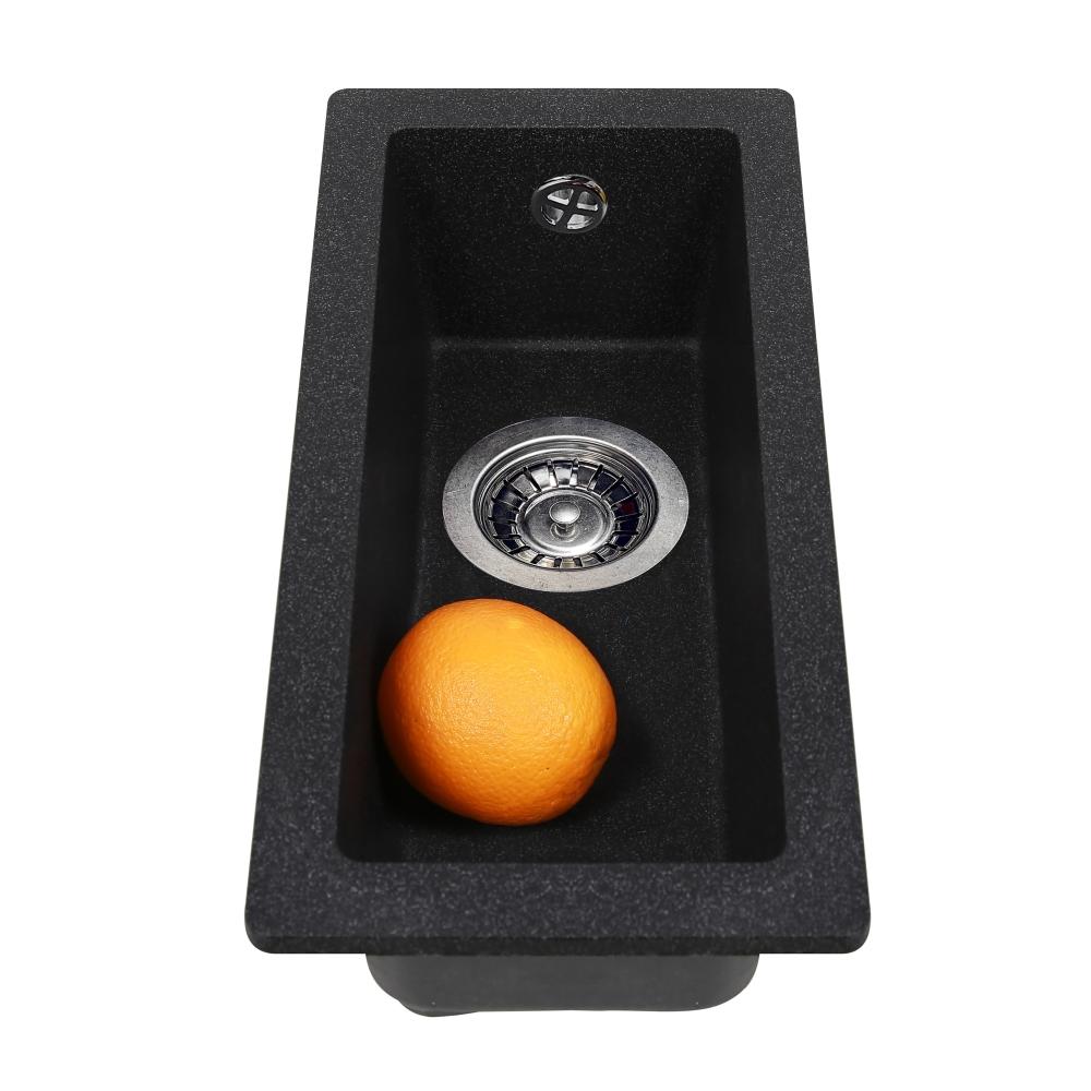 Мийка кухонна гранітна  Perfelli ESTO PGE 10-22 BLACK