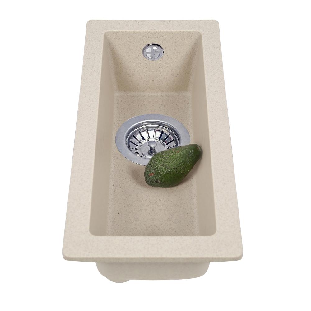 Lavello da cucina in granito Perfelli ESTO PGE 10-22 SAND