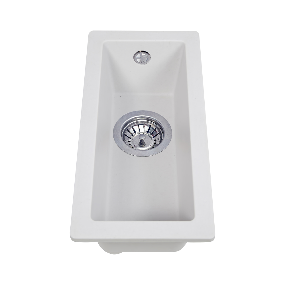 Granite kitchen sink Perfelli ESTO PGE 10-22 WHITE