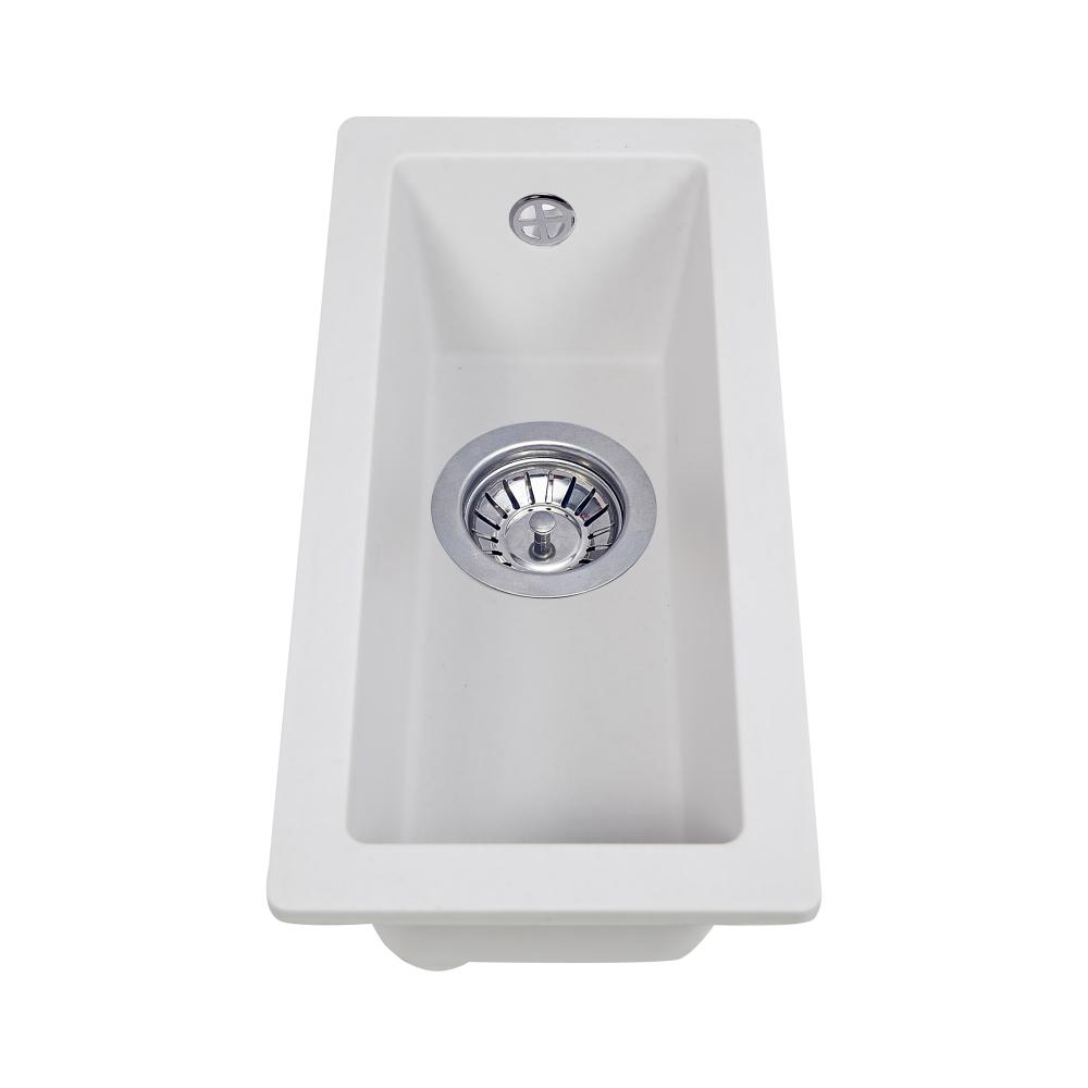 Мийка кухонна гранітна  Perfelli ESTO PGE 10-22 WHITE