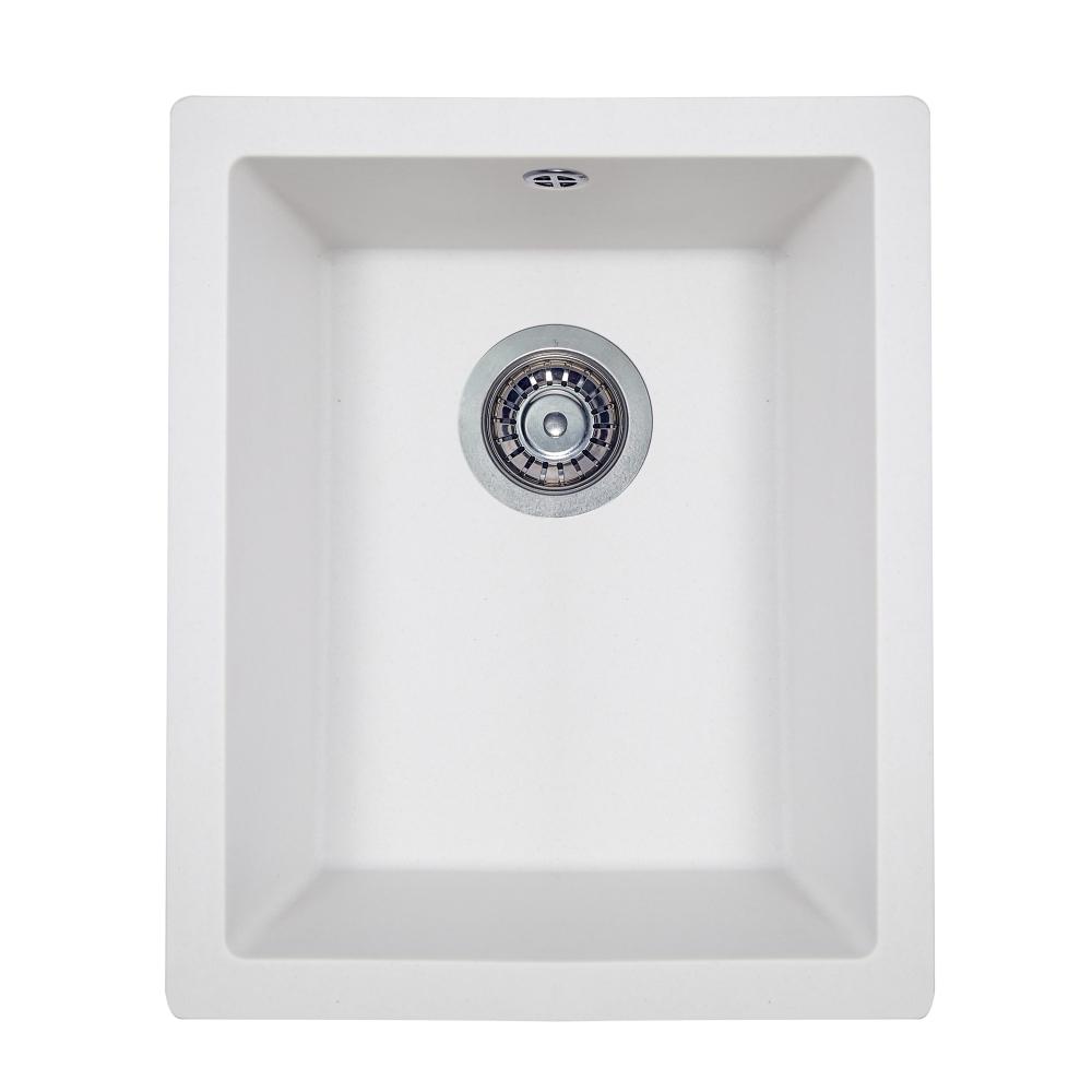 Мийка кухонна гранітна  Perfelli ESTO PGE 10-38 WHITE