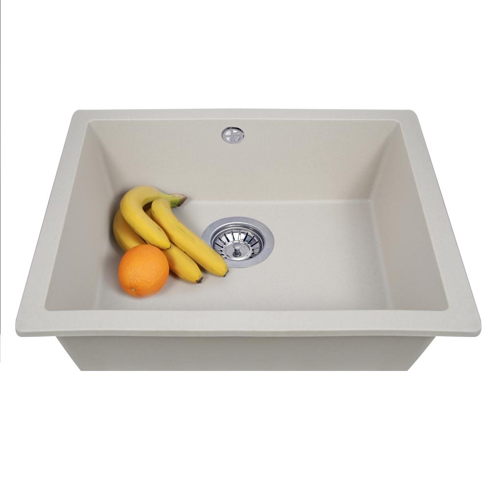 Granite kitchen sink Perfelli ESTO PGE 10-55 SAND