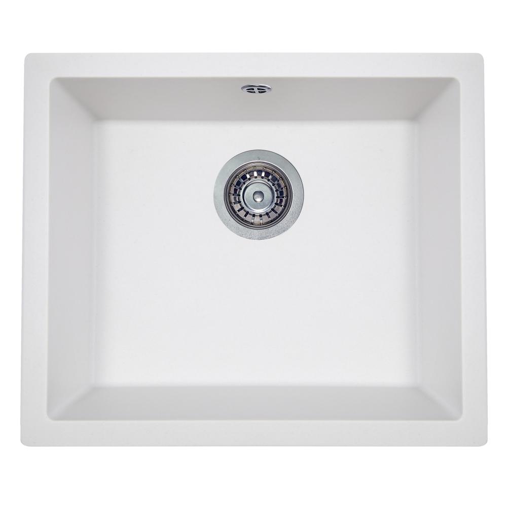 Granite kitchen sink Perfelli ESTO PGE 10-55 WHITE