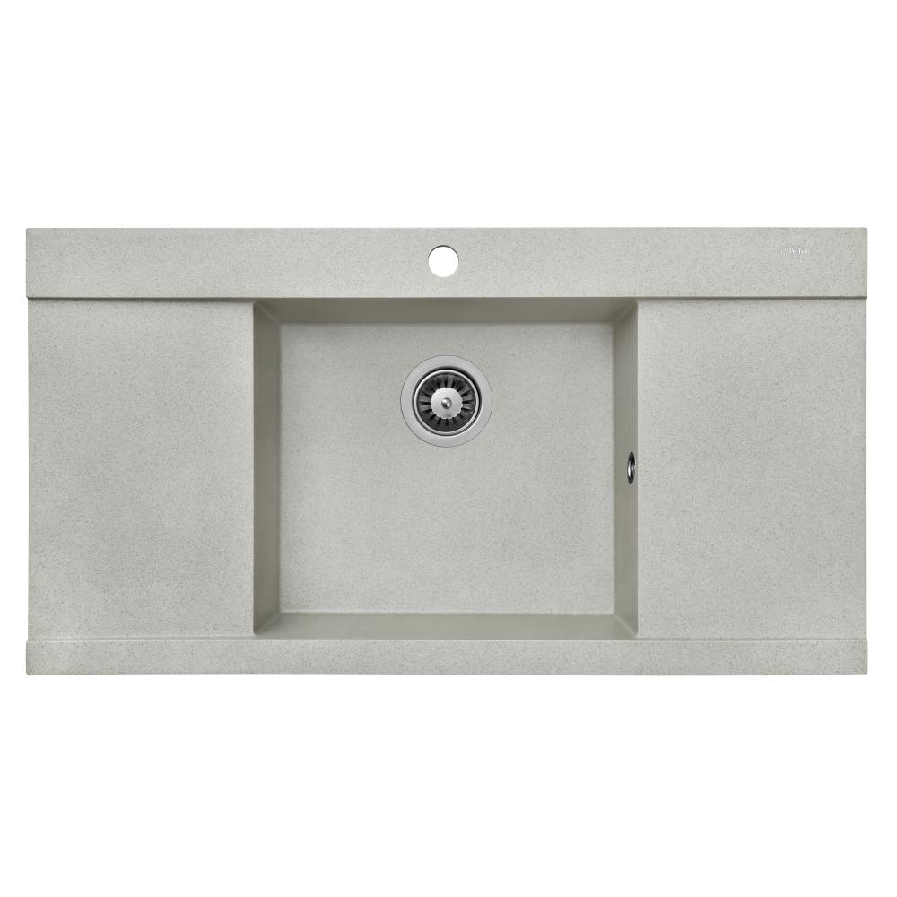 Granite kitchen sink Perfelli ETERNO PGE 125-96 SAND