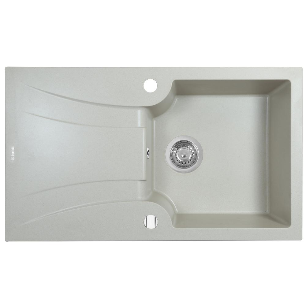 Мийка кухонна гранітна  Perfelli FELICINETTO PGF 114-78 LIGHT BEIGE