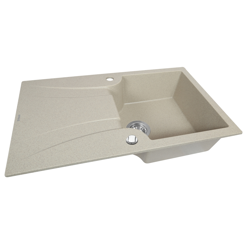 Lavello da cucina in granito Perfelli FELICINETTO PGF 114-78 SAND
