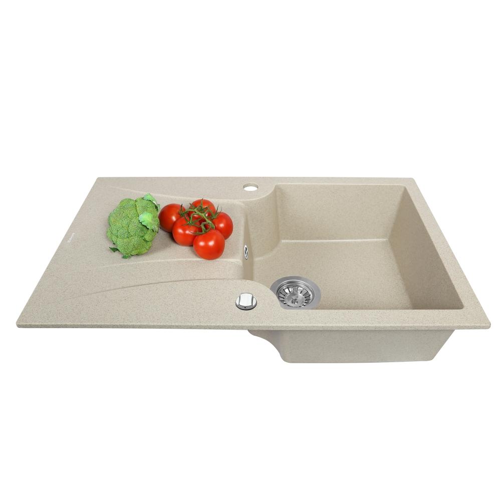 Мойка кухонная гранитная  Perfelli FELICINETTO PGF 114-78 SAND