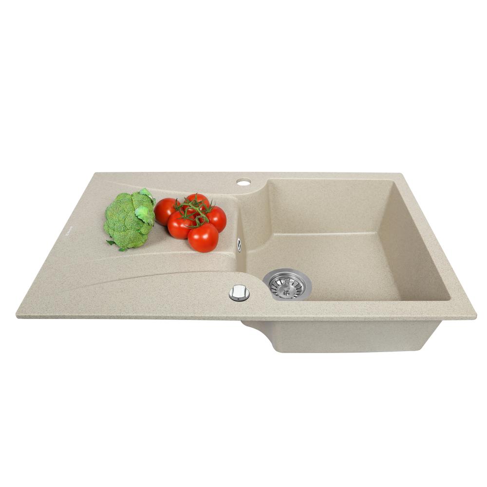 Мийка кухонна гранітна  Perfelli FELICINETTO PGF 114-78 SAND