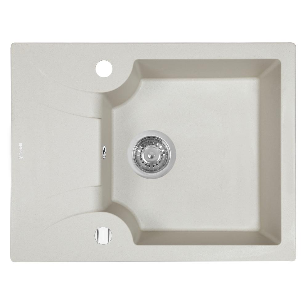 Lavello da cucina in granito Perfelli FELICITA PGF 134-60 LIGHT BEIGE