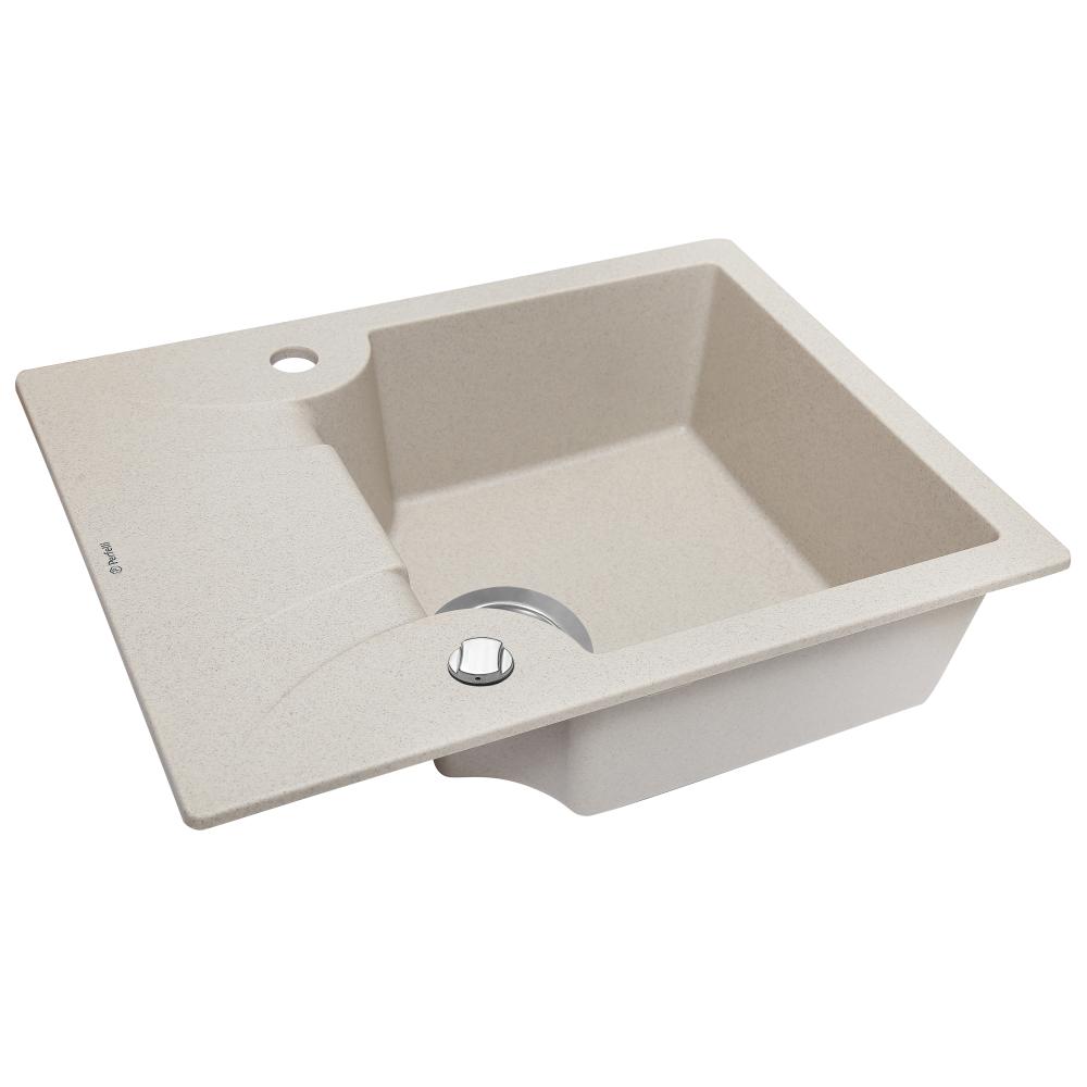 Мийка кухонна гранітна  Perfelli FELICITA PGF 134-60 SAND