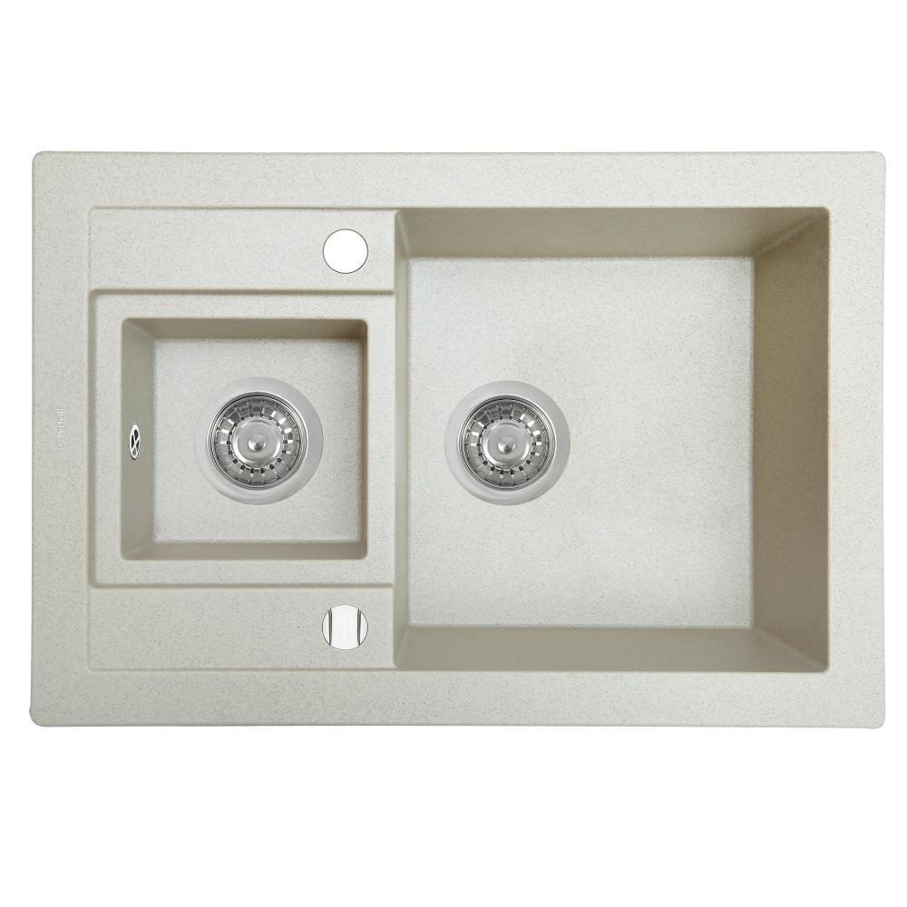 Lavello da cucina in granito Perfelli GRANZE PGG 506-67 LIGHT BEIGE