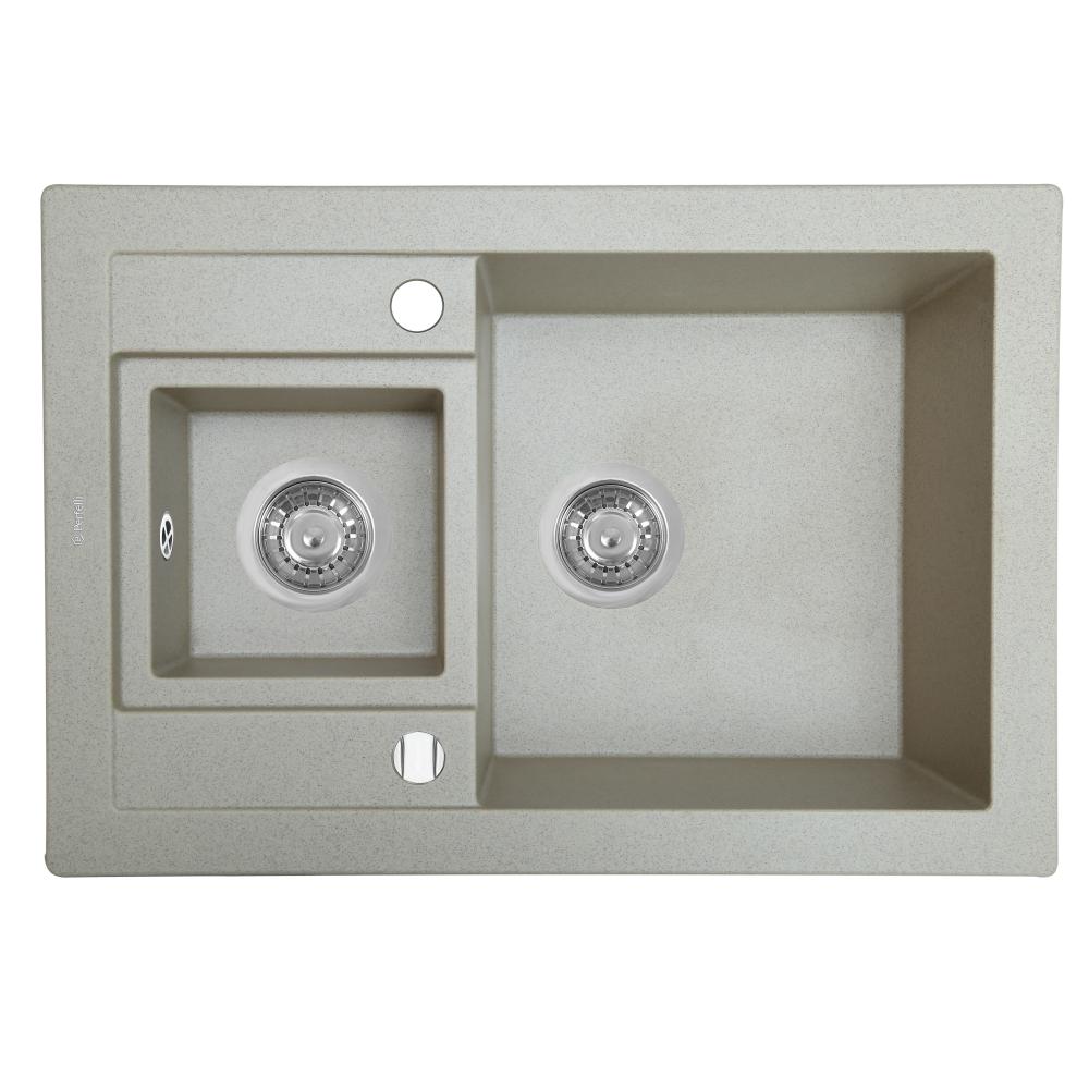 Granite kitchen sink Perfelli GRANZE PGG 506-67 SAND