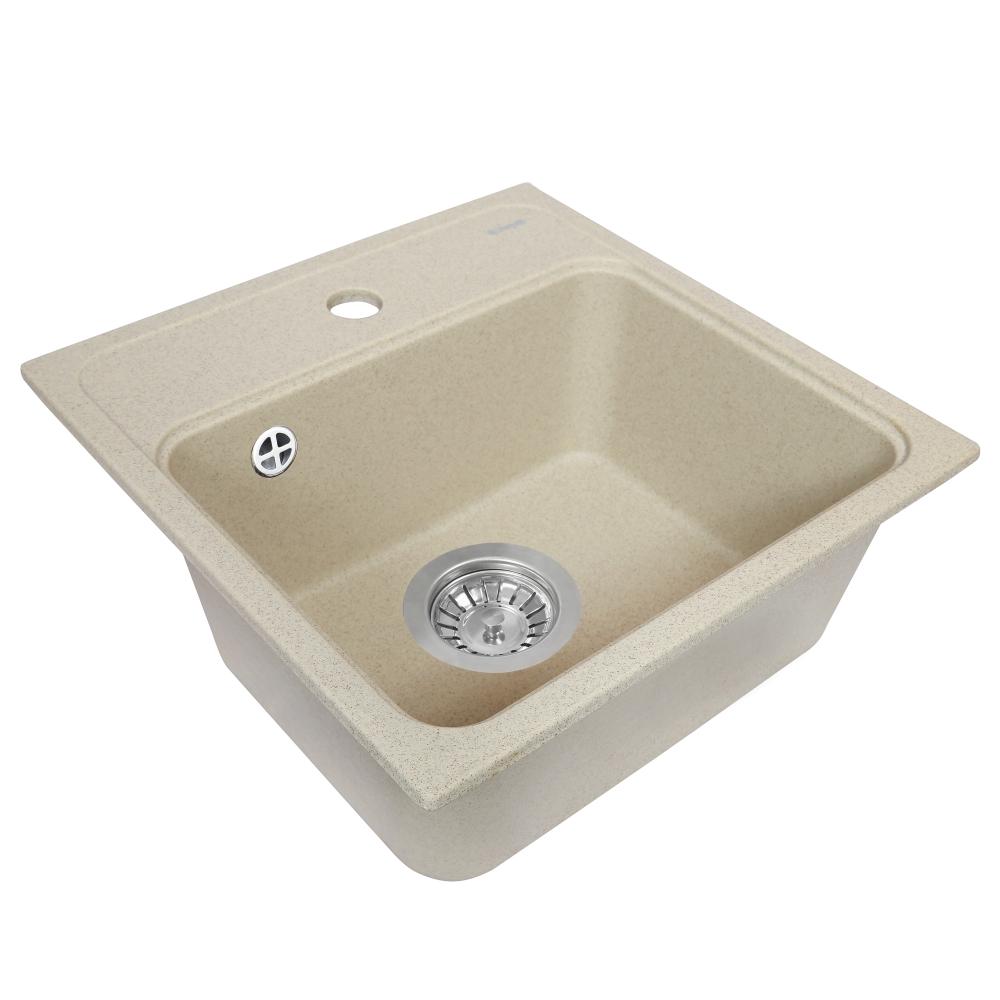 Lavello da cucina in granito Perfelli GRASSO SGG 104-40 SAND