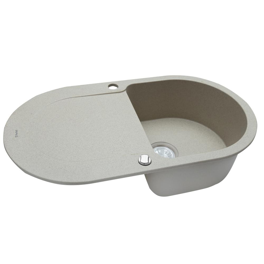 Granite kitchen sink Perfelli IZETTA OGI 114-78 SAND