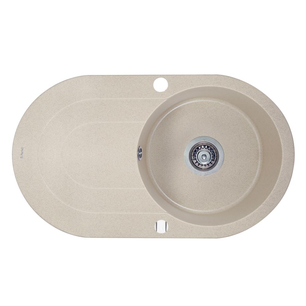 Granite kitchen sink Perfelli ORVIETTO OGO 114-78 SAND