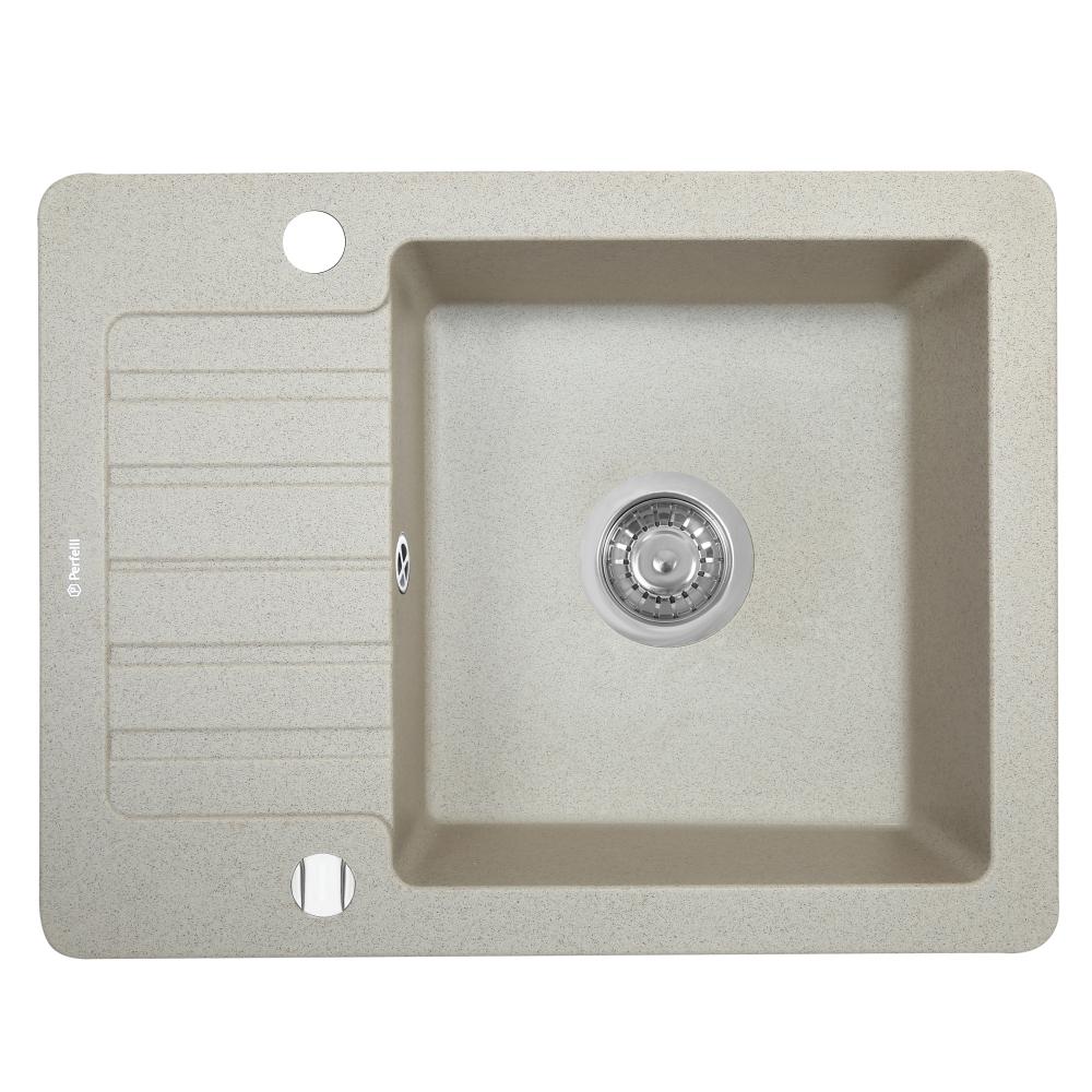Granite kitchen sink Perfelli PICCOLO PGP 134-58 SAND