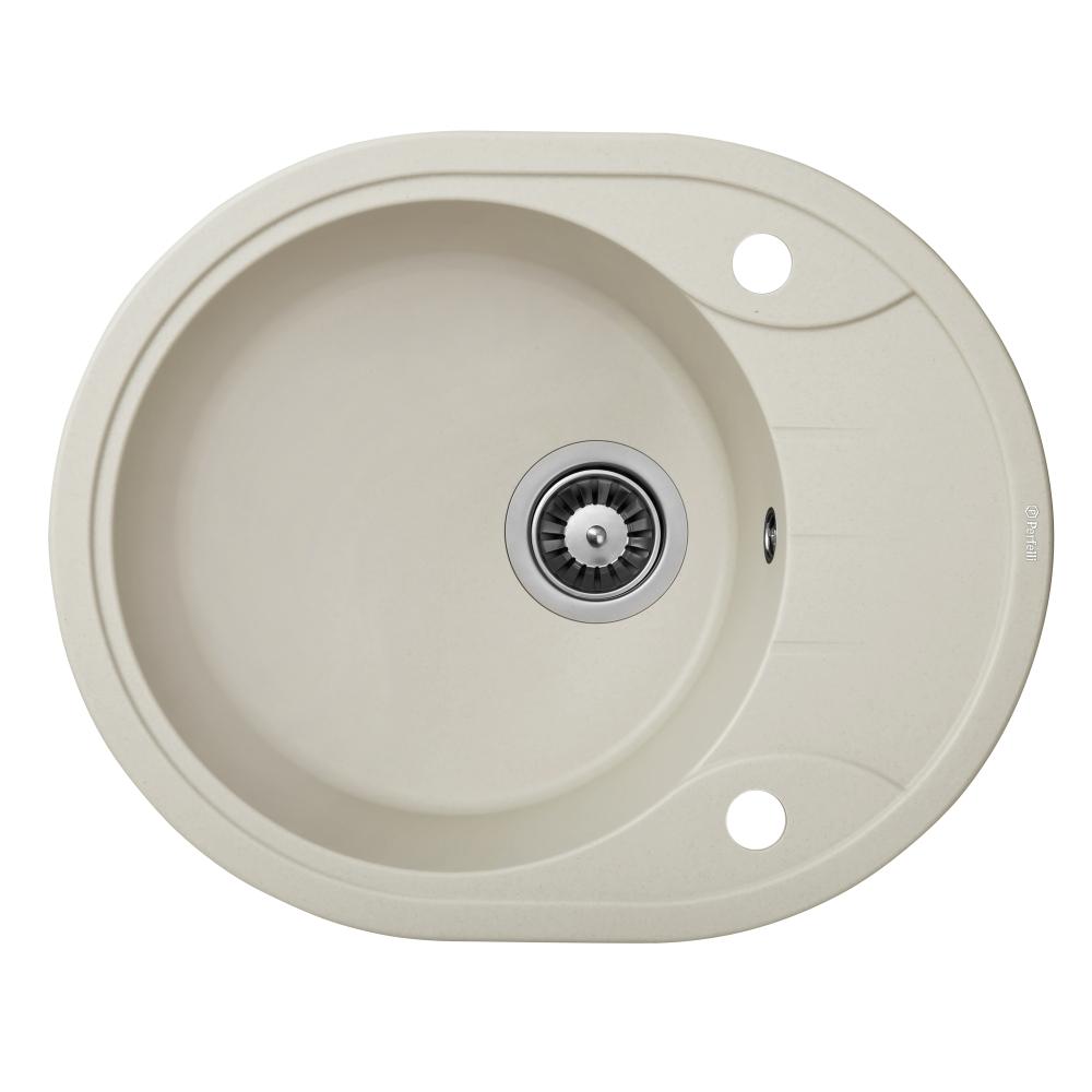 Lavello da cucina in granito Perfelli PRIMO OGP 135-58 LIGHT BEIGE