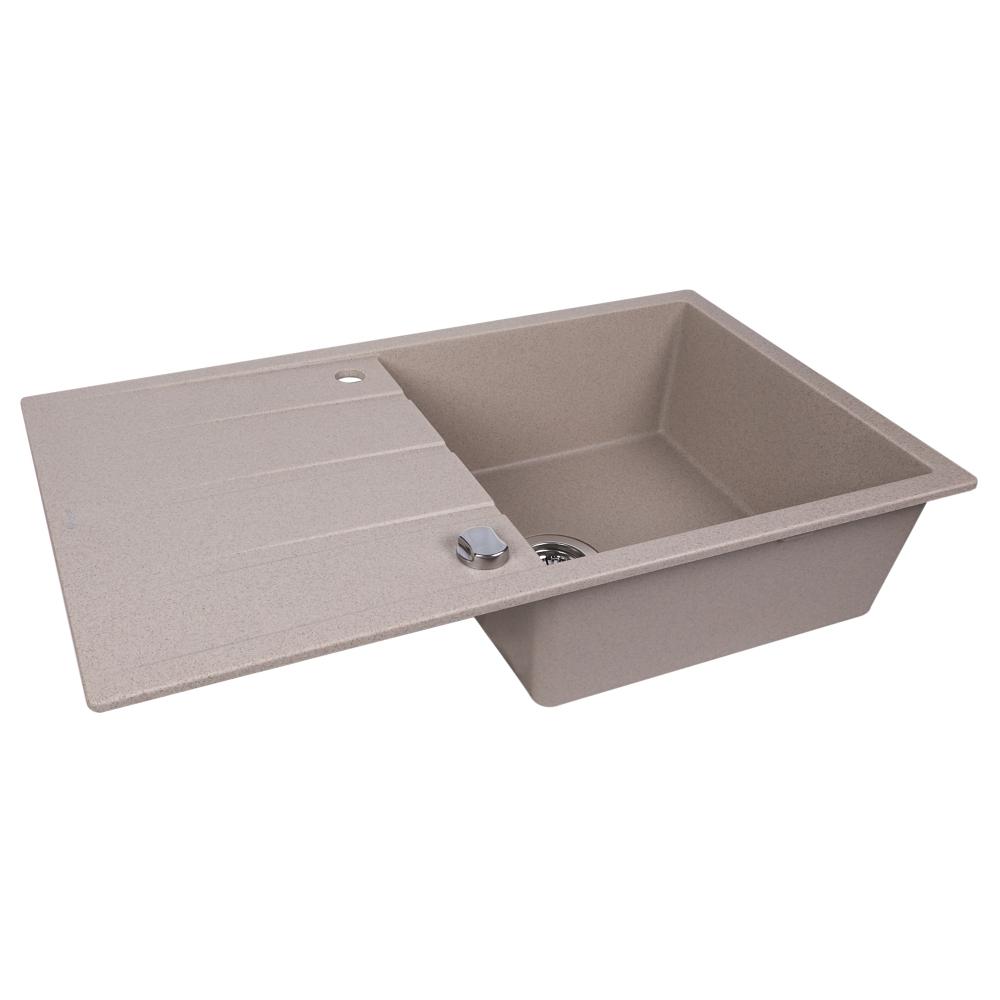 Granite kitchen sink Perfelli RIVIERA PGR 114-86 SAND
