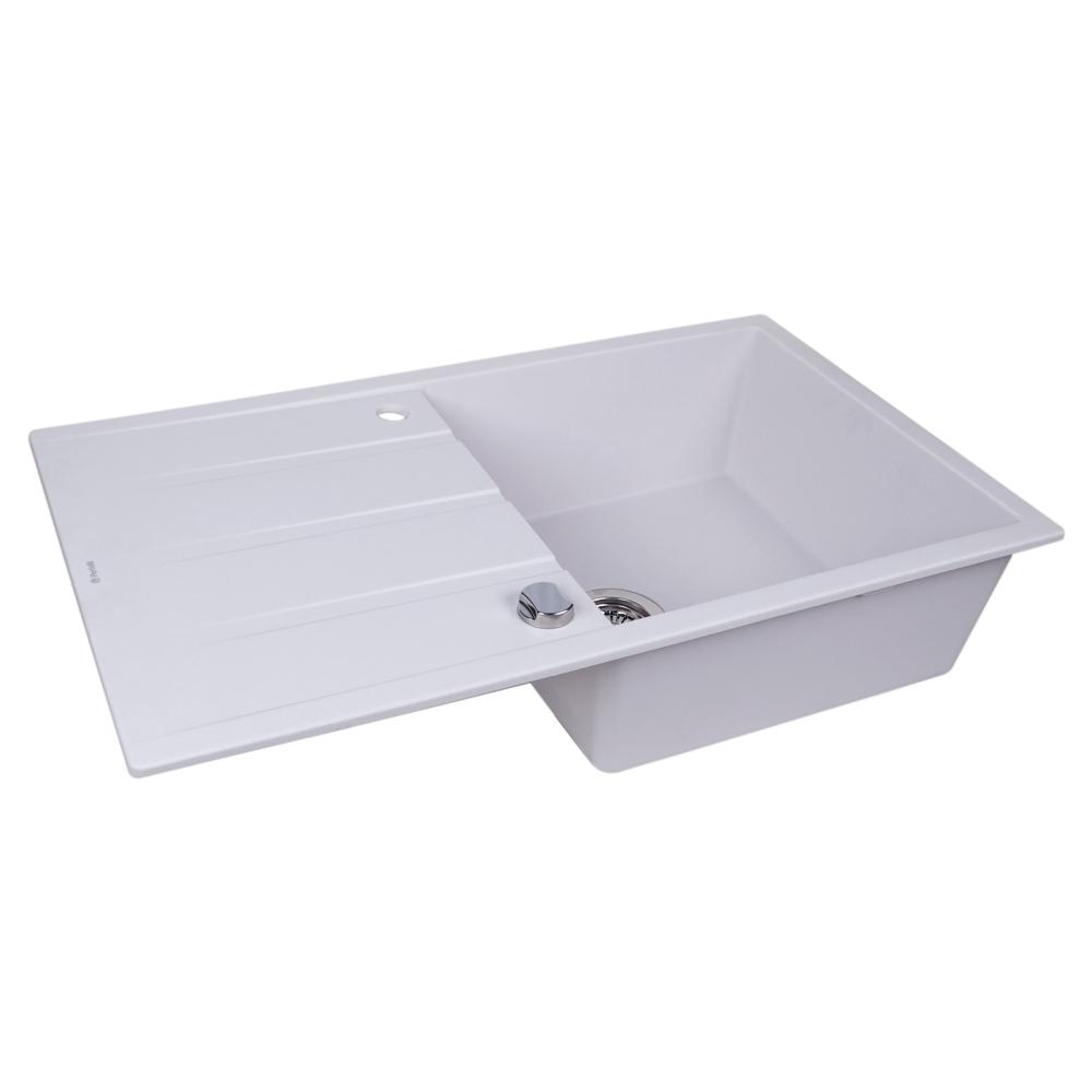 Lavello da cucina in granito Perfelli RIVIERA PGR 114-86 WHITE