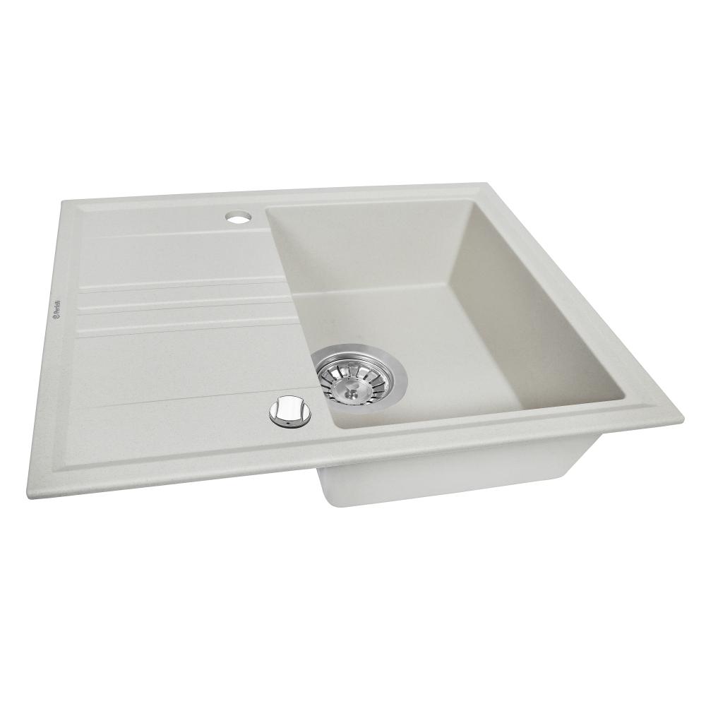 Granite kitchen sink Perfelli SILVE PGS 134-64 SAND